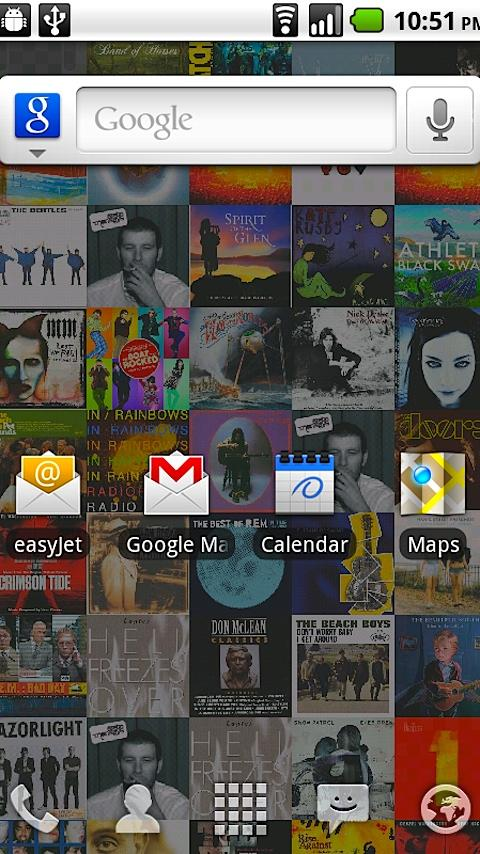 Album Art Live Wallpaper Android Themes