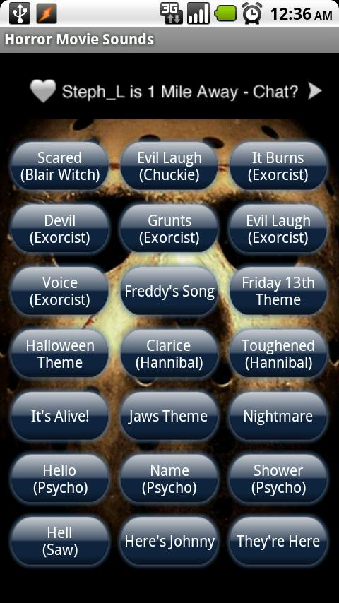Horror Movie Sounds Android Multimedia