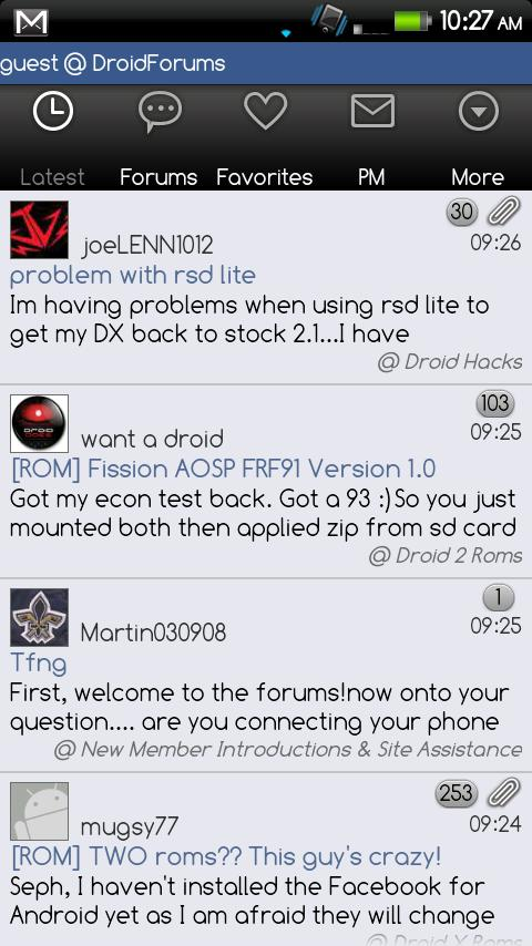 Droid Forums Android Social