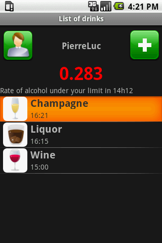 Alcohol Calculator Android Lifestyle