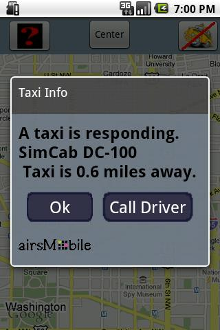 TaxiRadar Android Travel
