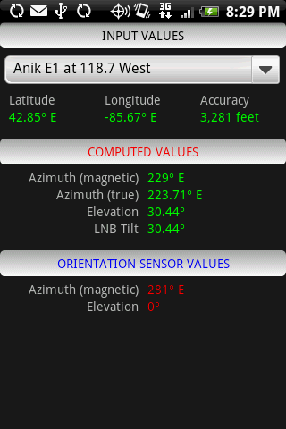 Satellite Finder Android Tools best android apps free download