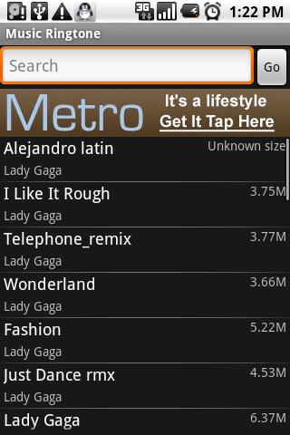 mp3 sports Android Sports