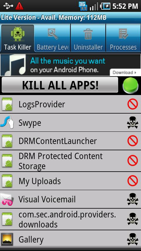 System Task Zone Lite Android Tools