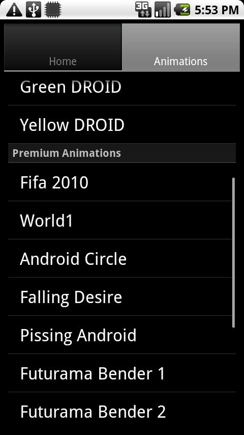 Boot Animation Changer Pro Android Productivity