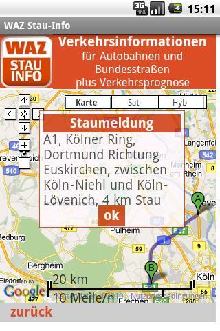 Stau Info App