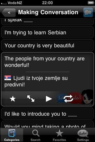 Lingopal Serbian Android Travel