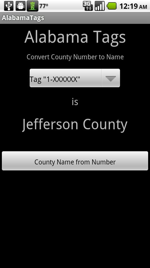 Alabama Tags Android Travel