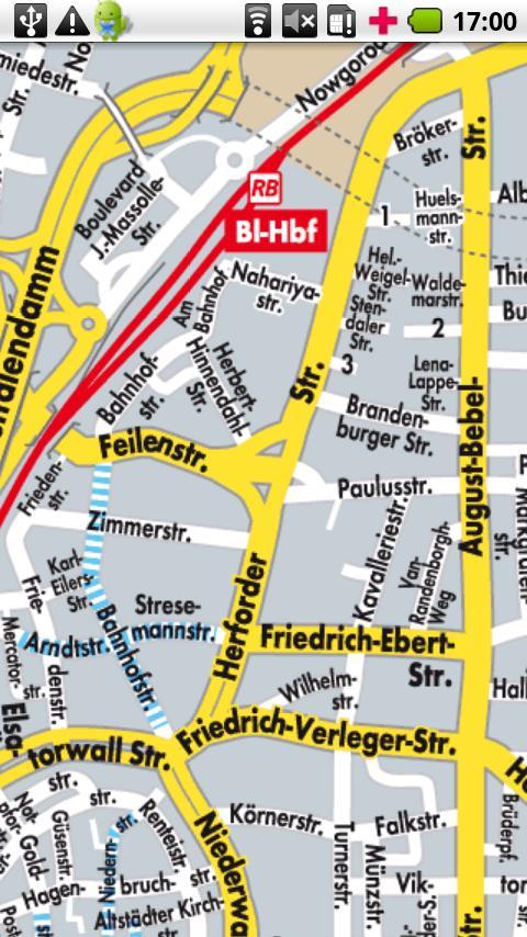Bielefeld Stadtplandienst Android Travel