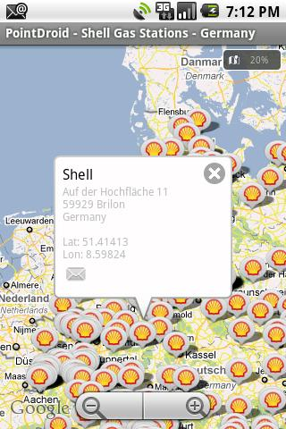 Shell Gas Stations – Germany Android Travel