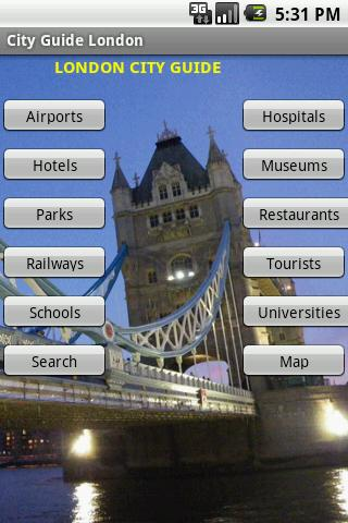 City Guide London Android Travel