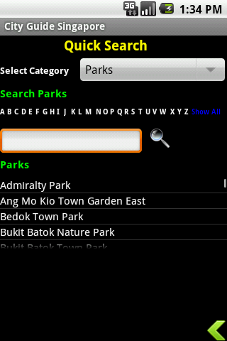 City Guide Singapore Android Travel