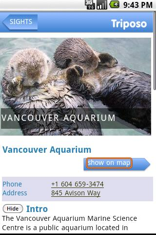 Vancouver Travel Guide Triposo Android Travel