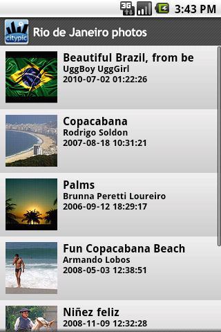 Rio de Janeiro photos Android Travel
