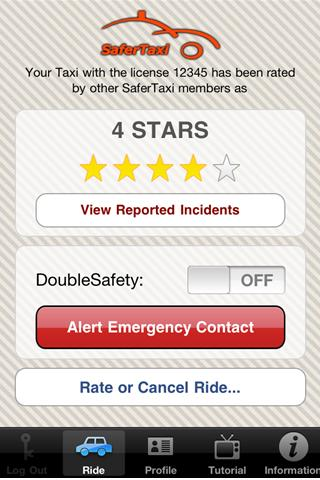 SaferTaxi Android Travel & Local