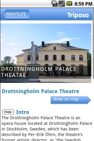 Stockholm Travel Guide Triposo Android Travel & Local