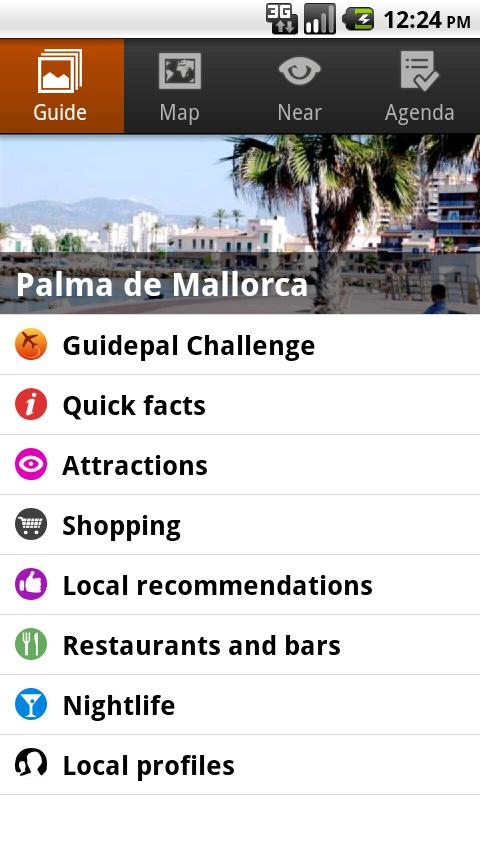 Palma de Mallorca Android Travel