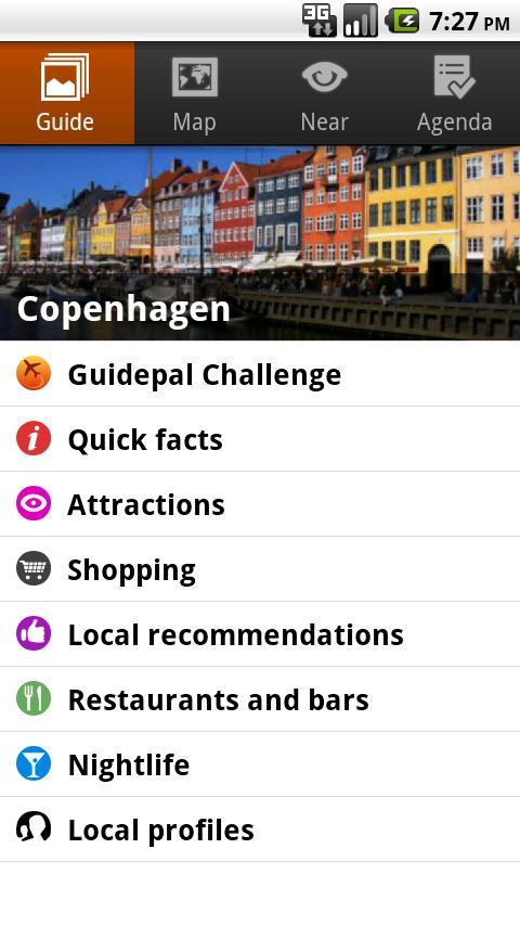 Copenhagen Android Travel