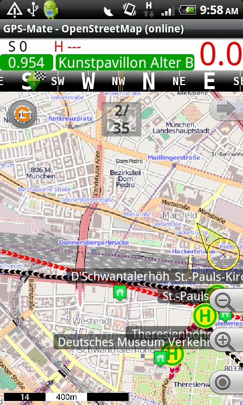 GPS-Mate Android Travel & Local