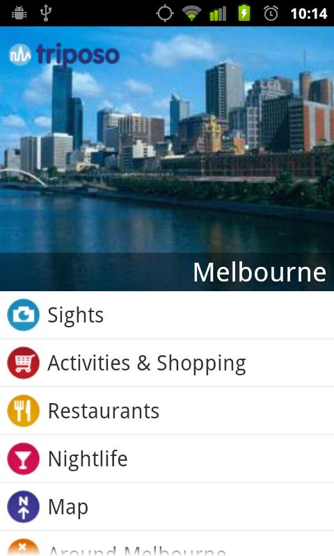 Melbourne Travel Guide Triposo Android Travel & Local