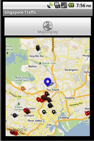 Traffic@SG Android Travel
