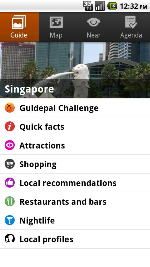 Singapore Android Travel