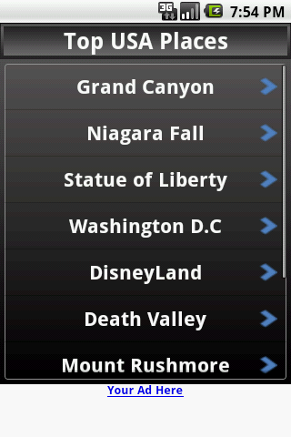I Love America Android Travel