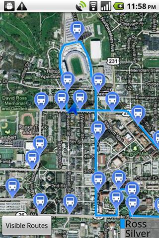 PurdueBus – Beta Android Travel & Local