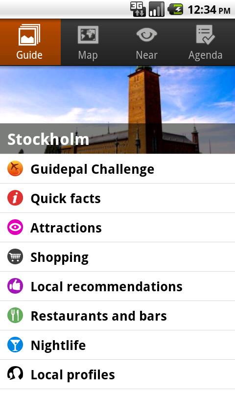 Stockholm Android Travel