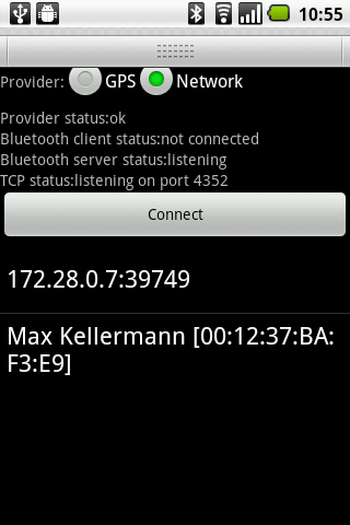 BlueNMEA Android Travel & Local