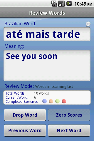 FREE Portuguese FlashCards Android Reference