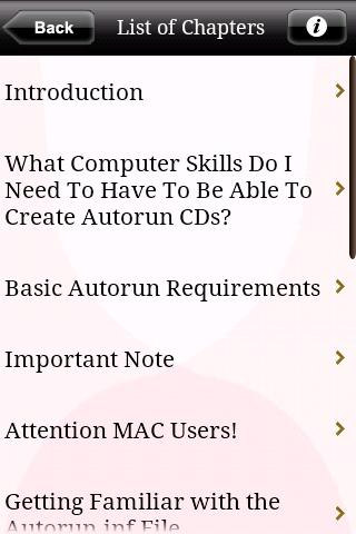 Autorun CD Creation Made Easy Android Reference