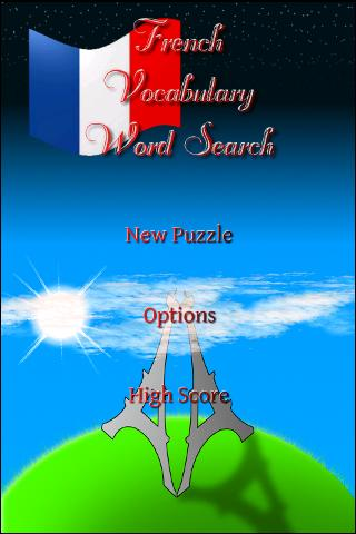 French Vocabulary WordSearch Android Reference