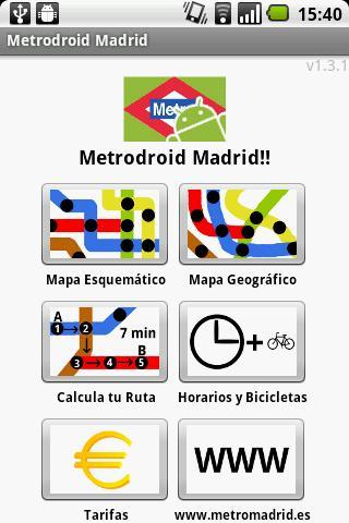 Metrodroid Madrid Android Travel & Local