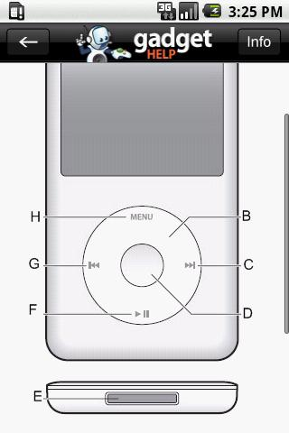 iPod Classic – Gadget Help Android Reference