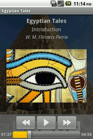 Egyptian Tales – AudioEbook Android Reference