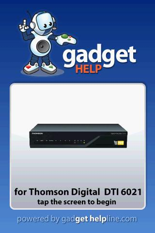 Thomson DTI 6021 – Gadget Help Android Reference