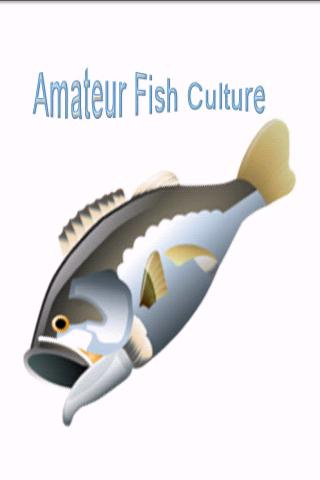 Amateur Fish Culture Android Reference