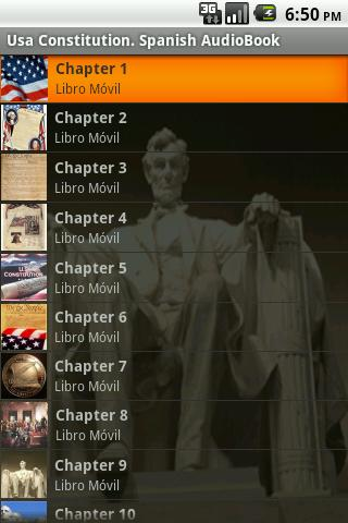 USA Constitution (Spanish) Android Reference