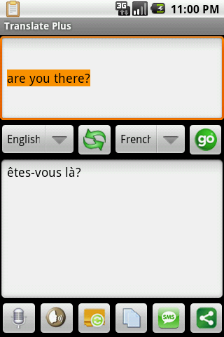 Translate Plus Android Reference