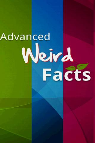 Fantastic Advanced Weird Facts Android Reference