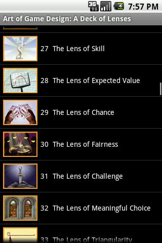Art Of Game Design: Lenses Android Reference