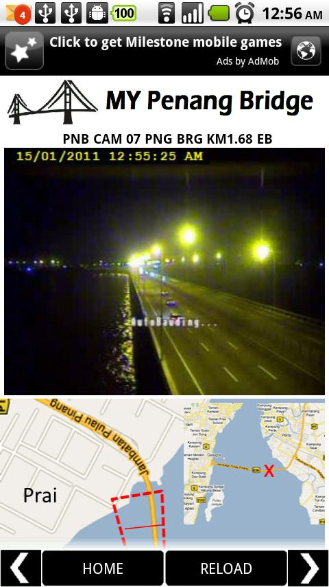 Penang Bridge Live Traffic Android Transportation
