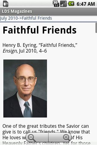 LDS Magazines Full Android Books & Reference