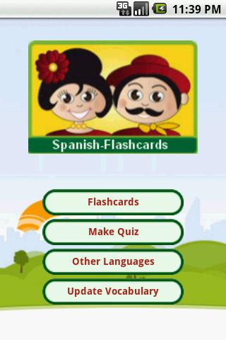 Spanish Flashcards Android Reference