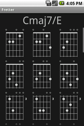 Fretter – Chords Android Books & Reference