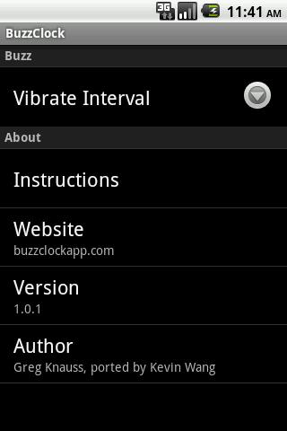 Buzz Clock Android Productivity
