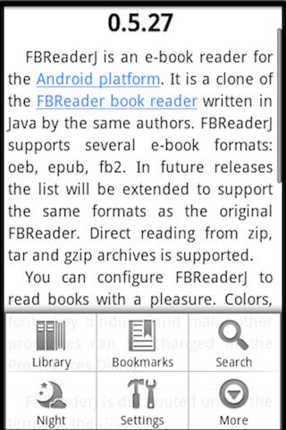 Ebook Reader Android Productivity