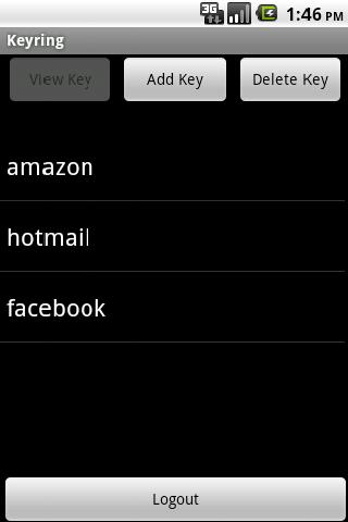 PortAvata Keyring Android Productivity