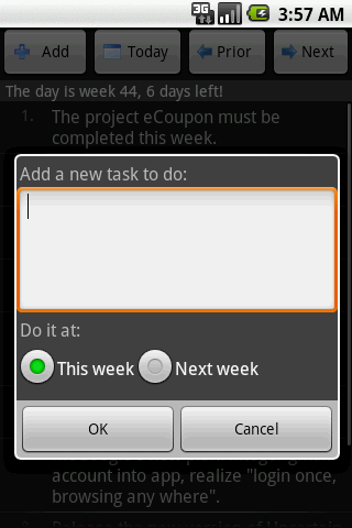 Weekly Plan,simply to do list! Android Productivity